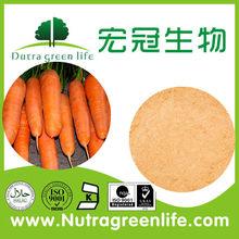 spray seco en polvo de zanahoria sin ningún tipo de aditivo