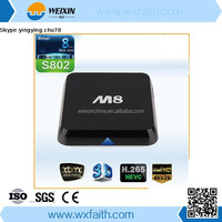 M8 Amlogic S802 Ott Sex Pron Video TV Box