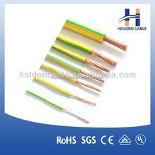High end multi copper conductor pvc single core cable