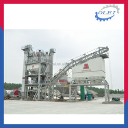 High performance asphalt mixing plant price