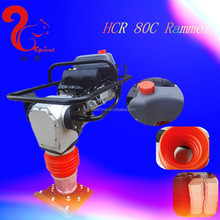 factory China tamping rammer HCR80C with Honda GX160 engine for road conctruction