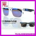 de moda de la moda popular gafas gafas de sol retro nuevas gafas de sol espía