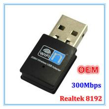 Realtek 8192CU mini 300Mbps Usb 2.0 Network Interface Card WiFi Lan Adapter 802.11n/b/g