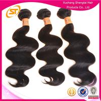 Wholesale No Tangle No Shedding #1B 100% Virgin Peruvian Cheap Human Hair Weft