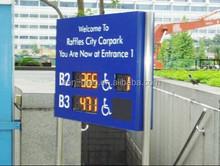 CE Approved Indoor Parking Lot Sensor LED Light All-in- one Smart Parking Guidance System