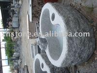 garden stone frog water bowl