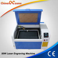 Rotary Axis Attached 4060 50w Laser Engraving Machine Jewellery