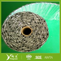 double layer bubble foil reflective insulation material
