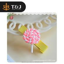 >>>Top Selling Fashion Hair Pin Baby Girls Cute Rainbow Lollipop Hair clip