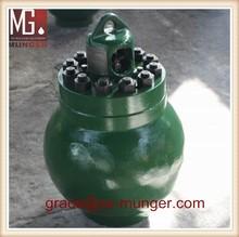 interchangeable mud pump pulsation damper assembly