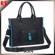 High quality fashion leather bag man brand handbag