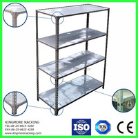 Angle steel shelf