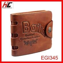 2015 Hot Selling Promotion Moq Definition Men Leather Wallet