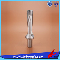 KSS-C32-D34-4D ---- China Supplier CNC Indexable Weldon Shank 4D U Type Drill