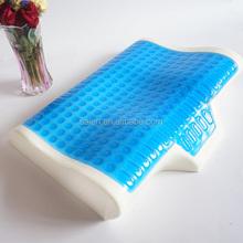 Comfortable pressure relief nursing CPAP memory foam gel pillow