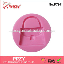 de silicona pastel de fondant bolsa de molde