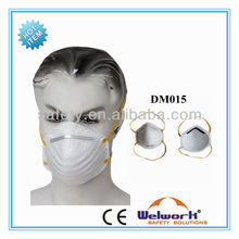 Nonwoven Valved Disposable Mask Chemical Dustproof Active Carbon Respirator
