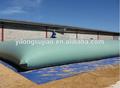 Grandes tanques de almacenamiento almohada agricultura agua de PVC flexible Bolsa, tanque de almacenamiento de líquidos