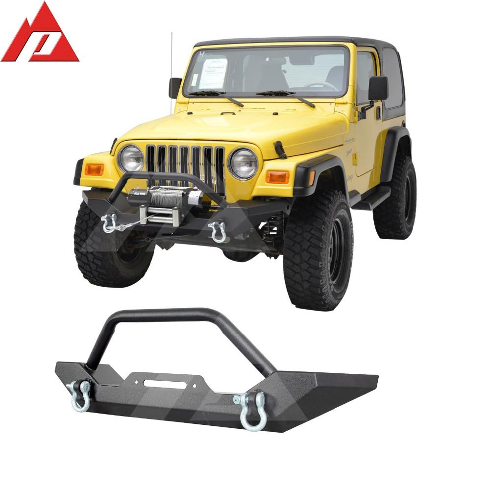... Jeep Wrangler YJ/TJ Heavy Duty Rock Crawler Front Bumper. 51 0034 2  ...