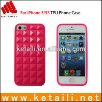 Made in China Cheap TPU Mobile Phone Case for iPhone 5S SAMPLE AVAILABLE