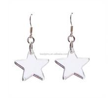 Custom Star Stud Earring Jewelry Charms