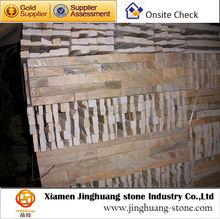 Cheap Stone Veneer Yellow Stone Veneer Natural Stone Exterior Wall Cladding
