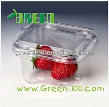 Custom order Transparent food Plastic Container