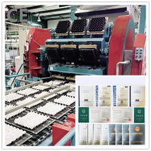 gift box/tray machine Professional Waste Paper Recycling small egg tray machine for hot sale2015