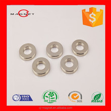 Cheap and strong power N48 ring with hole Neodymium Magnet