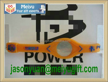 American basketball team New York logo power silicone bracelet with hologram logo