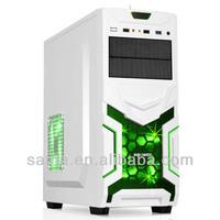 ATX computer case,gaming computer case,white computer case-R02W