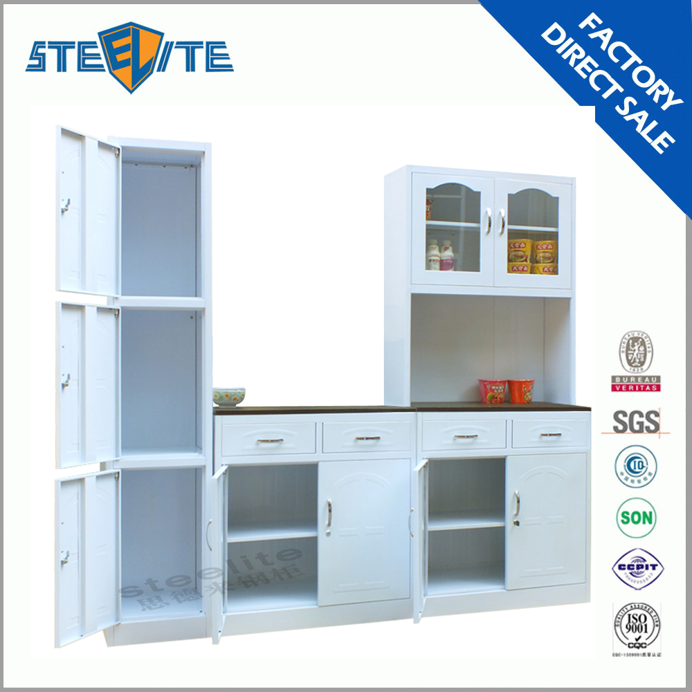 China made new style metal kitchen cabinet for sale buy for Kitchen cabinets for sale