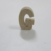 best selling English 26 letter alphabet wooden arts design letter G