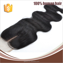 Hot Selling Very Smooth 7a Top Standard Virgin Brazilian Body Wave Lace Closures