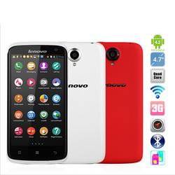 Lenovo Phone MTK6589 Quad Core Mobile Phone 4.7'' IPS 1280x720px 1GB RAM Android 4.2 Dual Sim 3G 13mp Camera GPS Lenovo S820