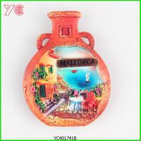 YC401741 Spain City Mallorca Souvenir 3D Resin Fridge Magnet
