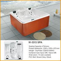 M-3313 Massage Bathtub Whirlpool Outdoor SPA Hot Tub