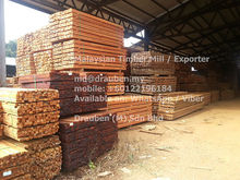 Red Meranti Timber Wood from Malaysia