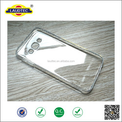 Soft Clear TPU Back Cover Colorful Protective Cell phone Case For Samsung note 2,J5,J7,S5,S6