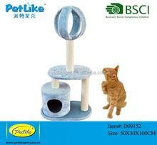 Top seller Blue Simple Cat tree Indoor Cat tree