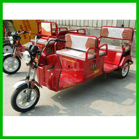 Bajaj Auto Taxi Tricycle Differential Motor Electric Tricycle For Adults