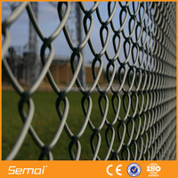 OA payment available Used Black Green Vinyl Coated Black Chain Link Fence Wholesale (SGS Direct Factory)