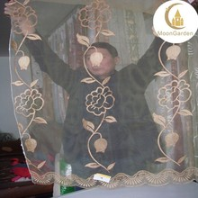 upholstery china fabric latest embroidery designs of organza curtain fabric