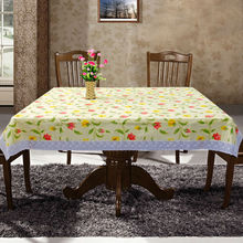 PVC/PEVA lace tablecloth with waterproof & oilproof