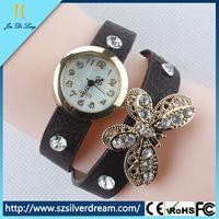 Antique Jewelry Watch Beautiful Lady Watch Leather