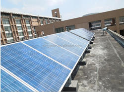 high efficience 200W poly solar panel for industrial