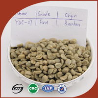 High-quality Original Yunnan Arabica green slimming coffee bean