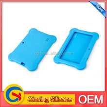 7.9 inch silicone bule color tablet pc cover for ipad mini