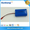 high quality customized 7.4v 2000mah 18650 rechargeablesuper bass portable speaker battery