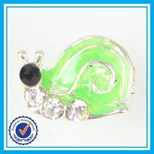 nuovo stile lumaca orecchino perno bambini piccoli orecchini animale carino